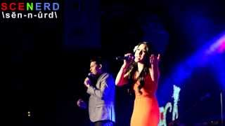 Ben Stone and Jasmine Trias performs at Mark Shunock's Mondays Dark
