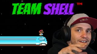 An entire team took Mario and made it ALL SHELL JUMPS | Team Shell Hack Super Mario World ROM Hack