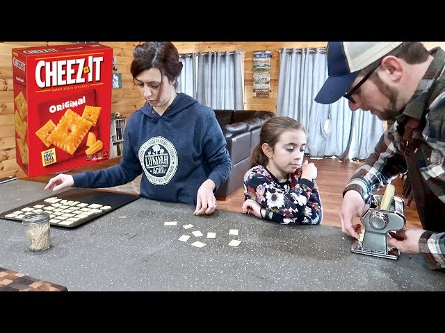 Farm Family Attempts to Make Gourmet Cheez-Its