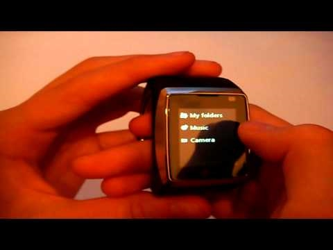 LG GD910 Touch Watch Phone demo