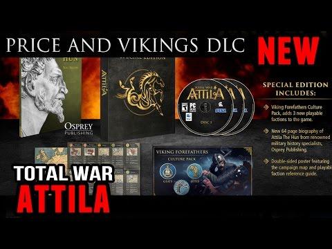 Price of Total War:Attila and Viking DLC |