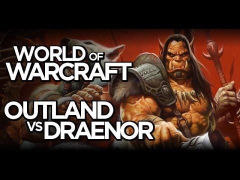 World Of Warcraft - Outland & Draenor Comparison (Shadowmoon Valley)