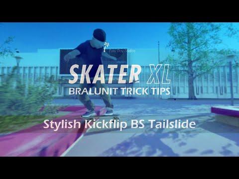 SKATER XL | Trick Tip | Steezy Kickflip BS Tailslide