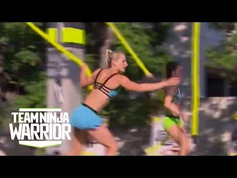 Season 2, Episode 8: Jessie Graff vs. Rachael Goldstein | Team Ninja Warrior