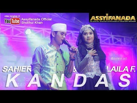 Kandas - Voc. Sahier & Laila Fajri (Muskurane) Assyifanada Populer Madura 2017 live Modung Bangkalan