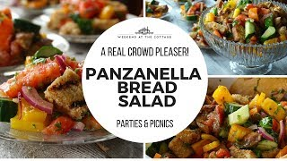 PANZANELLA BREAD SALAD RECIPE!