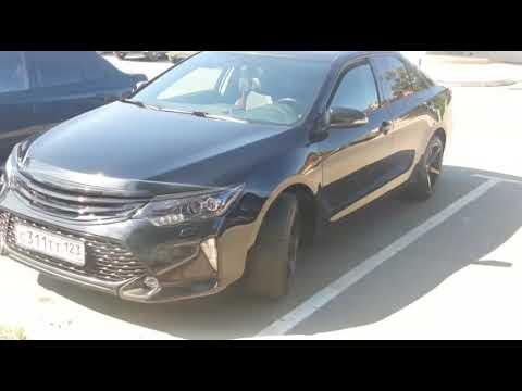 Toyota Camry V55 работа над эксклюзивом
