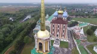 Рязанский Кремль(Клип снят на квадрокоптер Phantom 3 Professional c воздуха., 2015-09-02T18:22:51.000Z)