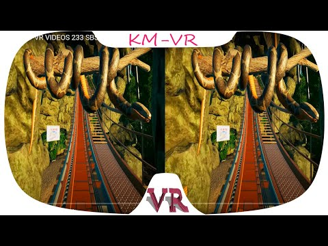 Jungle 3D-VR VIDEOS 233 SBS Virtual Reality Video 2k google cardboard