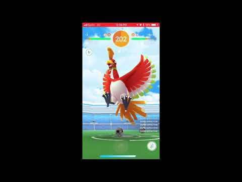 3 Player Ho-oh (56 secs left -Weather Boosted)