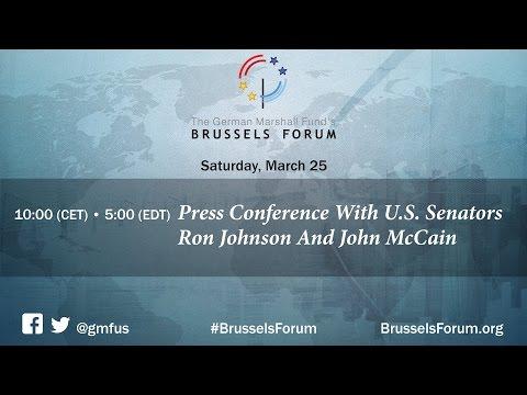 Press Conference With U.S. Senators Ron Johnson And John McCain