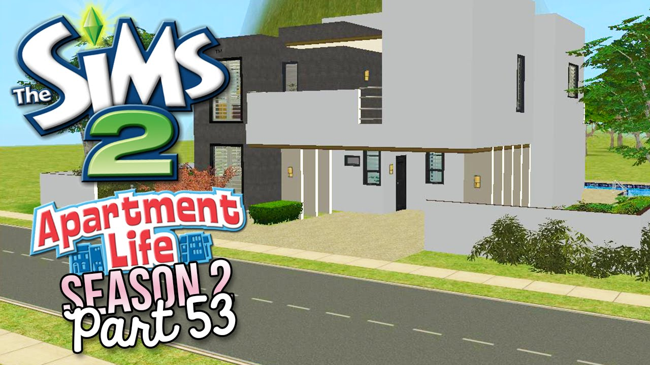 The sims 2 apartment life s2 part 53 new modern for Modern house 6 part 2