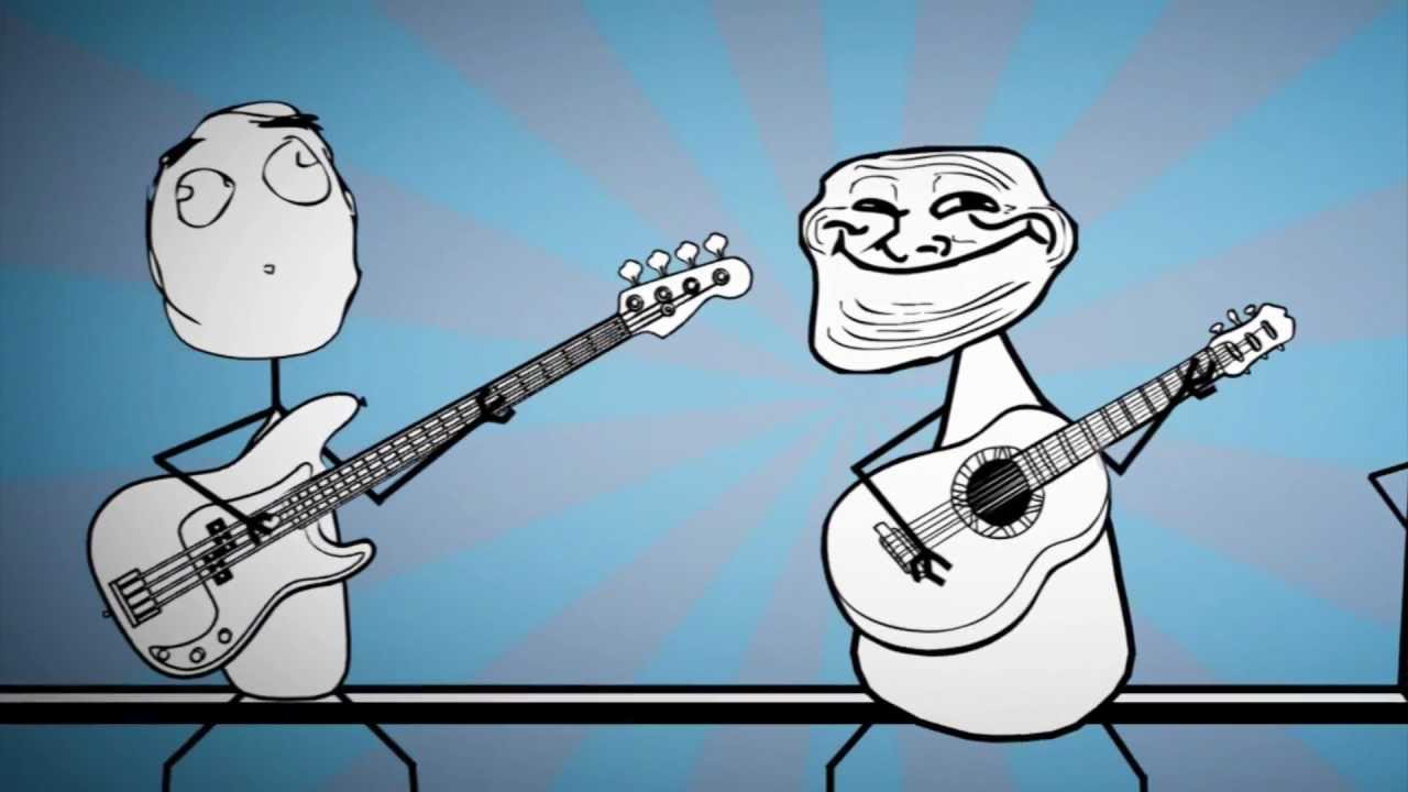 maxresdefault rage faces song fat and alone (troll face, me gusta, normal guy