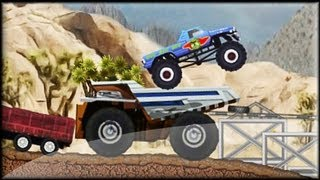 Monster Truck Trip 3 - Game preview / gameplay