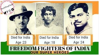 🔴Inspirational - Indian Freedom Fighters - Our Superheroes
