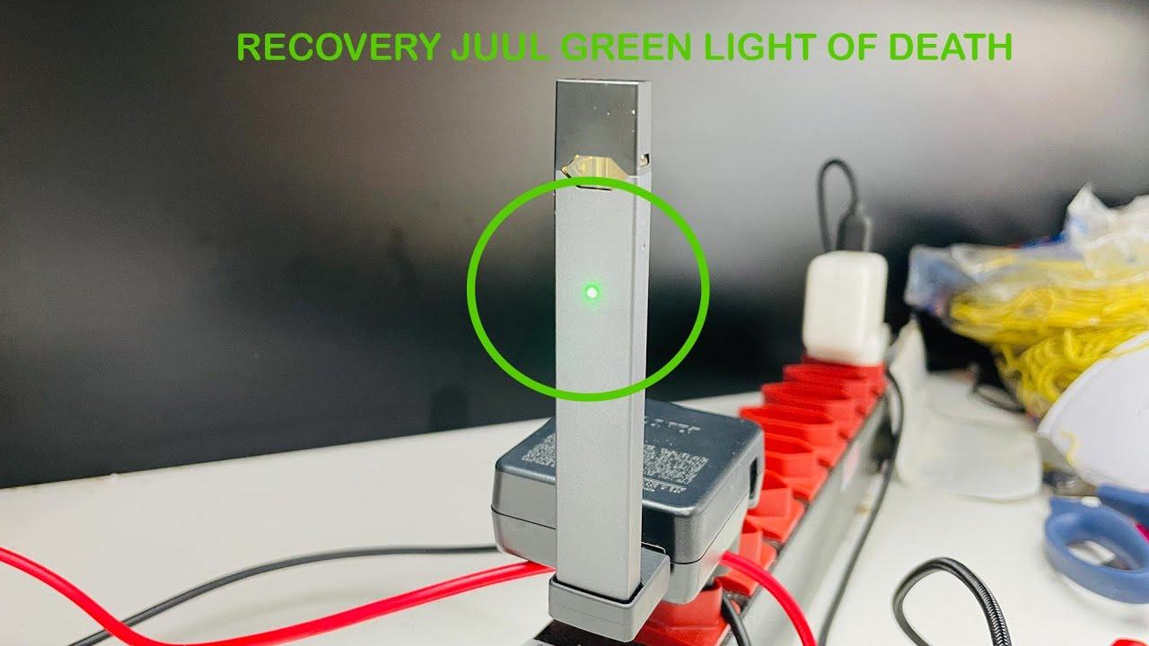 Juul Luz Verde Da Morte Juul Green Light Of Death Recovery Youtube