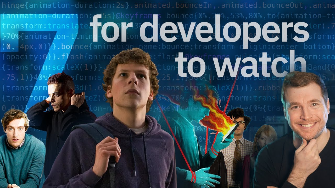7 Must Watch Movies for Web Developers