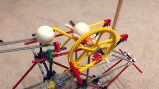 Knex ping pong ball launcher catapult