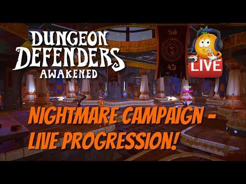DDA Nightmare Campaign Progression!