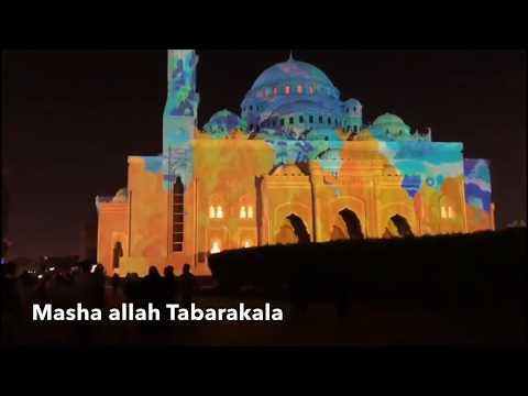 Sharjah Light Festival 2019  Friday Vlog