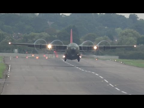 Very Short C-130 Hercules Takeoff