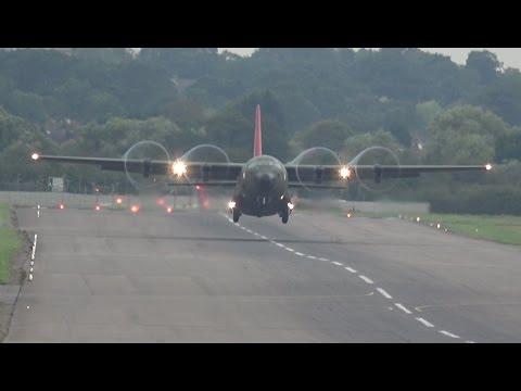Very Short C-130 Hercules Takeoff