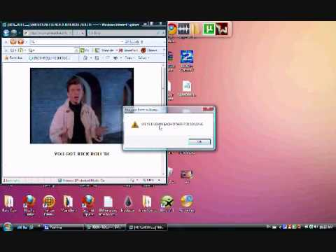 How To Rick Roll People (( MUST SEE )) Not on Youtube. and ...