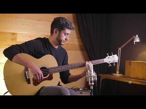 Guild B-240E & B-240EF Fretless Acoustic Bass Demos