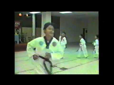 Klang Executive Club Tae Kwon Do Demontration 1988 (Part 2)