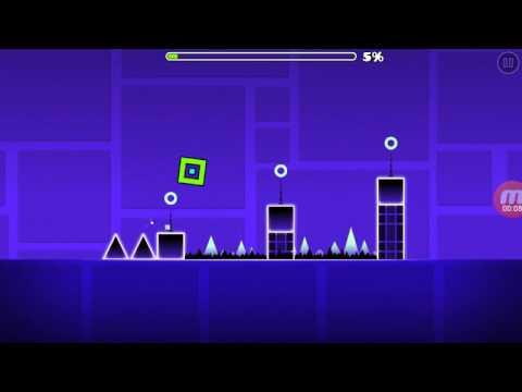 Geometry dash(versi yogs)semua koin tersembunyi arena 1