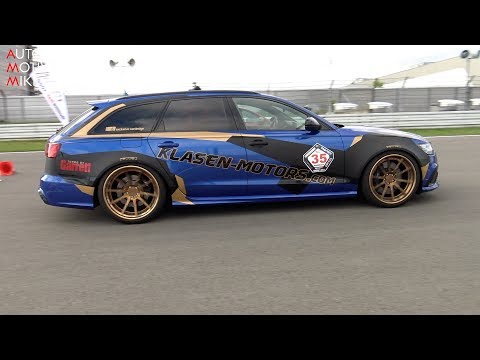 DRAG RACE: 900HP AUDI RS6 by KLASEN-MOTORS