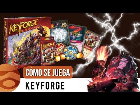 KEYFORGE ⚡  ¿Cómo se juega? | #Jupireseña