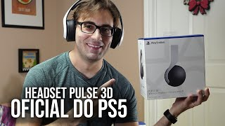 PULSE 3D do PS5 - Unboxing do Headset Oficial do PlayStation 5