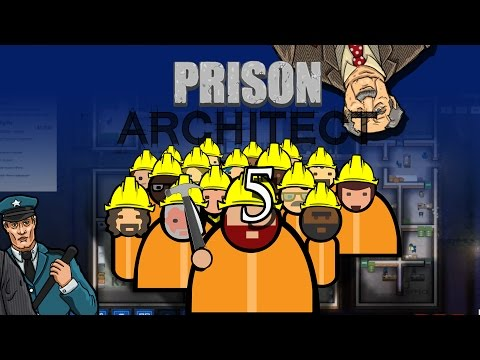 Prison Architect - The Labor Zone #5