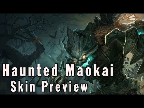League of Legends Skin Preview - Haunted Maokai