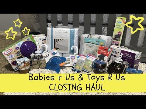 Babies R Us Closing!?!?!? // Babies R Us & Toys R Us Closing Haul