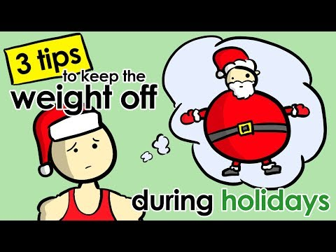 3 Tips to Keep the Weight Off During the Holidays