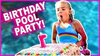 🎂Birthday Pool Party!!👙