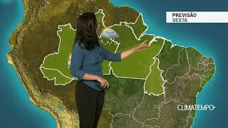 Previsão Norte – Risco de temporais isolados