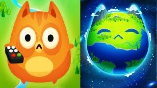 ЭВОЛЮЦИЯ КОТОВ игра мультфильм заселяем новую планету МЯУ котами в игре Cat Evolution