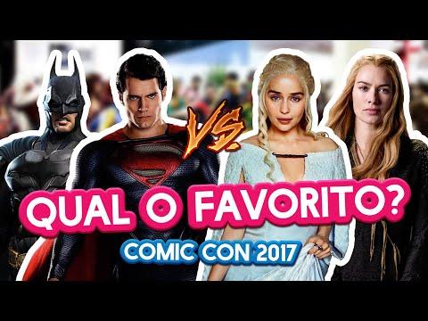 QUAL O FAVORITO DE: GOT, HARRY POTTER, HERÓIS, SÉRIES - Comic Con | Maicon Tudo