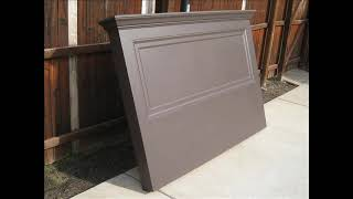 Vintage Headboards makes headboards using old doors and new doors. We can make them using one of your doors too. Please