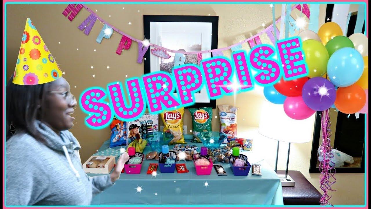 Surprise Hotel Birthday Party Turning 13 Rwtr Youtube