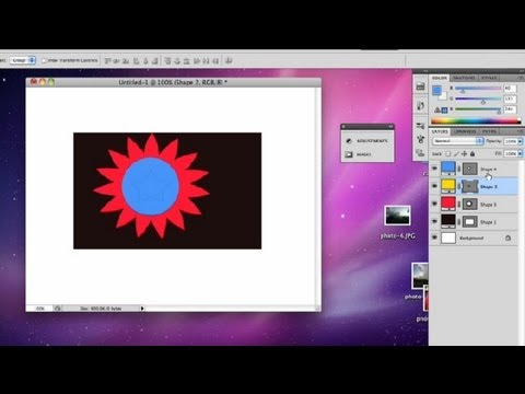 How to Move Your Layers Back in CS5 : Advanced Photoshop CS5