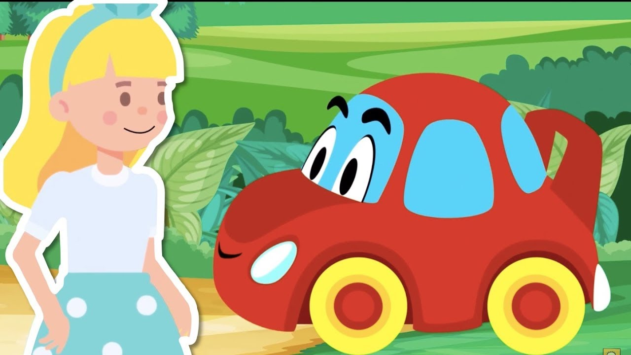 Kırmızı Araba Nerdesin? - Renkleri Öğreniyorum - Eğlenceli Çocuk Şarkısı