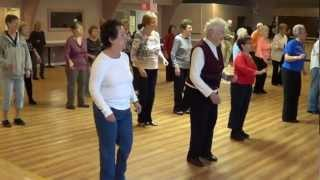 WHIPPED CREAM Line Dance @ 2012 REVERE, MA. Workshop with Ira Weisburd