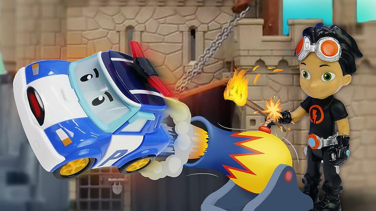 Игрушки на защиту! Ромео атакует Игрушечный Замок! Поли, Чейз, Кэтбой и Расти, время быть героем!