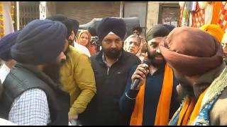 A Nagar Kirtan,Martyrdom Day Anniversary of Shri Guru Tegh Bahadur Sahib Ji