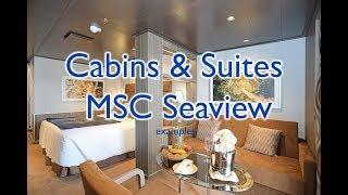 MSC Seaview Kabinen und Suiten