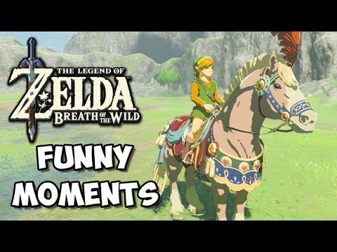 Zelda Breath of the Wild Funny Moments: Sexy Horse Armor - Chocolate Milk Gamer